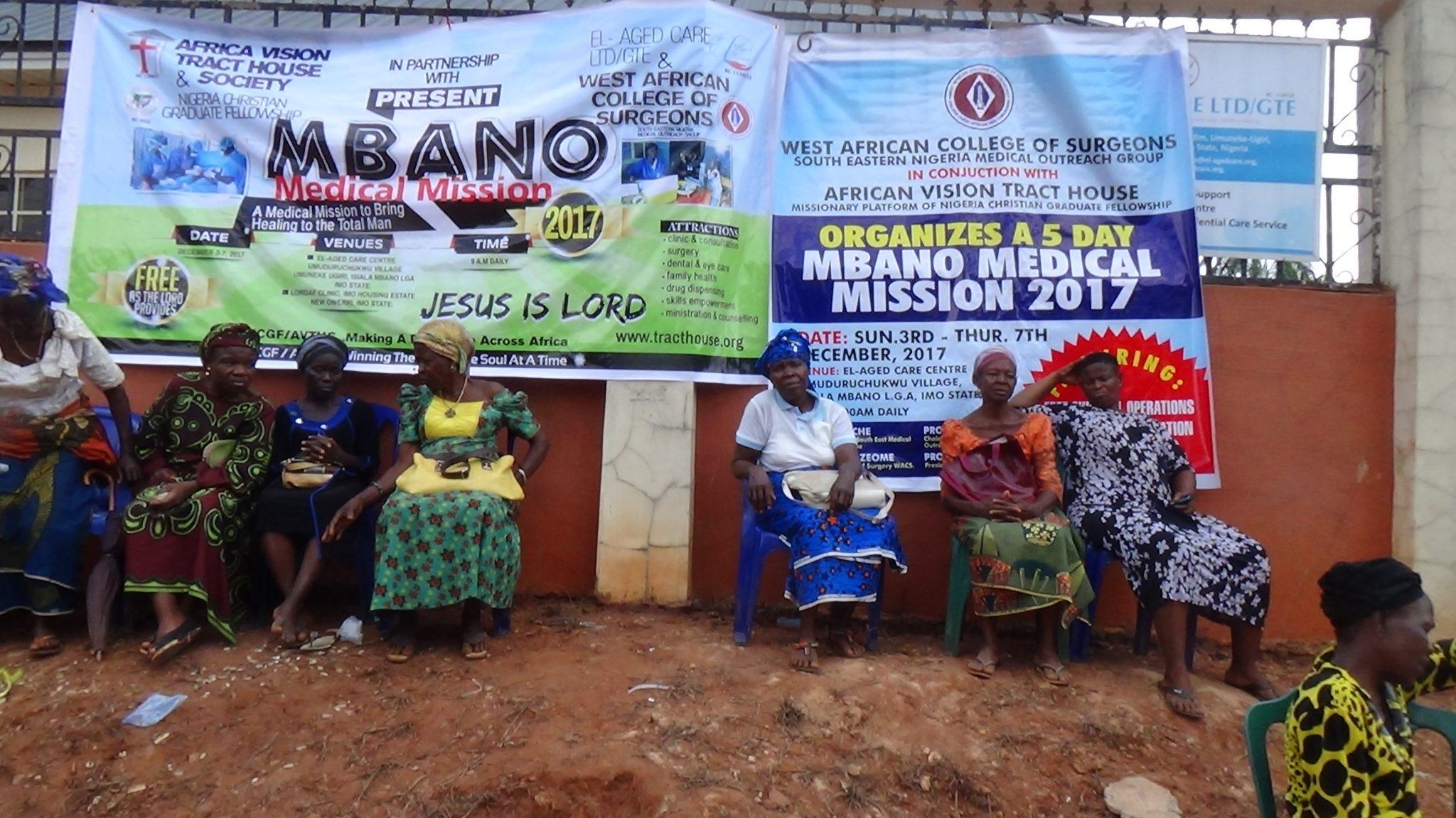 At The Mbano Medical Mission 2017